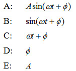 phase of a simple harmonic motion equation